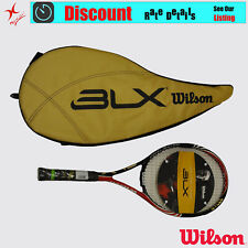 WILSON TENNIS RACQUET - SIX-ONE TEAM 95 BLX - GRIP SIZE: 4 1/4, 4 3/8, 4 1/2
