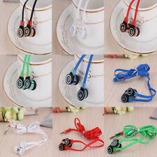 New Stereo 3.5mm In Ear Headphone Earphone Earbud for iPhone Samsung iPod MP3/4