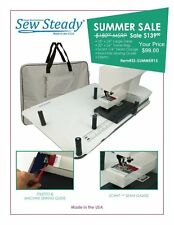 Pfaff Sew Steady 18X24 LARGE Extension Table - SUMMER SALE w/ Free Travel Bag