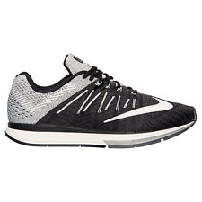New Men's Nike Air Zoom Elite 8 Running Shoes Black/White/Grey Dark 748588-001
