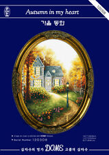 Autumn In My Heart @ DOME counted cross stitch kit 14ct/11ct