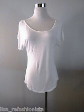 White Plain Brand Open Cold Shoulder T-Shirts NWT $22.94 Old Navy Choose Size