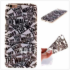 Vans off the wall Soft Plastic TPU case skin cover for Various smart  phones
