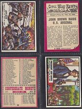 A&BC - CIVIL WAR NEWS 1965 (TITLE 41mm) (NUMBERS 61-88) PLEASE SELECT YOUR CARD.
