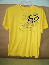 New Fox Yellow Boy's Hair Raiser SS Tee Large 07955-005