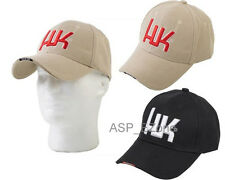 New Airsoft Outdoor Sports Army Marine HK Baseball Hat Cap Tan / Black