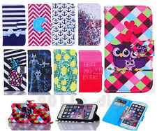 Hot sale Giraffe owl Leather Flip Wallet Card Holder Stand Case Cover For phones