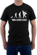 The Walking Dad Evolution - Funny Sarcastic Fathers Parody T-Shirt Gift Idea