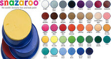 Snazaroo Face Paint Pots 18ml Professional Body Make Up Halloween Water Based