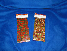 NEW WILTON THANKSGIVING AUTUMN LEAVES & PUMPKINS PARTY TREAT BAGS, YOUR PICK