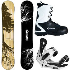 New 2016 Camp Seven Roots CRC Mens Snowboard Package +Summit Bindings+APX Boots