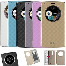 Quick Circle NFC Smart Window View Flip Wireless Charging Case Cover for LG G4