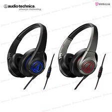 Brand New! audio-technica ATH-AX5iS SonicFuel Over-ear Headphones for Smartphone