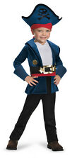 Classic Captain Jake CHILD Costume NEW Jake and the Neverland Pirates Disney