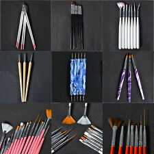 Dotting Drawing Painting Nail Art UV Gel Brushes Pens Manicure Professional Kit