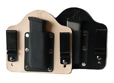 FoxX Leather & Kydex IWB Magazine Carrier Holster Springfield XD-S .45 ACP ONLY