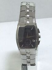 Men's Bulova 96D137 Accutron Stainless Diamond Accented Chronograph Dial Watch