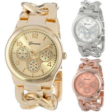 LUXURY Stylish Womens Watch Stainless Steel Band Quartz Wristwatch New FREE SHIP
