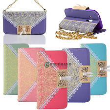 New Stand Leather Card Cover Case Wallet Flip for Samsung Galaxy S3 Mini i8190