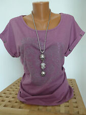 GSD Short Sleeve T-Shirt Size 40/42 Mallow with sequins NEW
