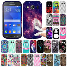 For Samsung Galaxy Ace 4 LTE G357 Various Pattern TPU SILICONE Rubber Case Cover