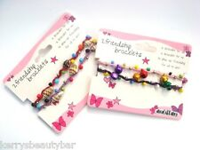 PACK OF 2 FRIENDSHIP BRACELETS - BELLS & SHELLS - BUY 1 PACK OR 2 OF YOUR CHOICE