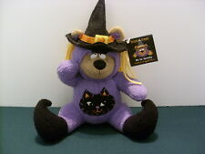 Hallmark Huggable Halloween Witch Bear - NWT