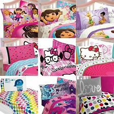 Childrens Character Girls Kid Bedding Set OR Comforter OR Sheets OR Bed-In-A-Bag
