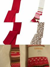 GYMBOREE 0-6 6-12 Month Girls Tights Choice Red Cozy Owl Parisian Chic Leopard