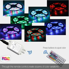 5-20M 300 LED Mood Lighting IDEAS TV BACK Car LIGHTS Colour Changing Strip Light