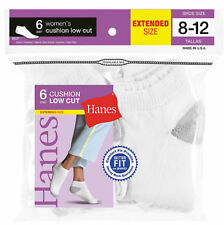 Hanes Women's Cushioned Low Cut Socks, 6-Pack. 680/6P