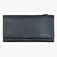 Lombardi Giovanni 20010 Women's Leather Wallet 17 Slots 1 Window Id and Zipper