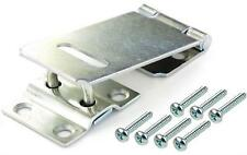 Security Hasp and Staple Gate Shed Lock Latch Pad Bolt Strong Van Lock Inc Screw