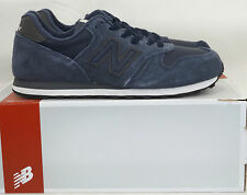 Mens New Balance M373 Leather Navy/Grey Trainers RRP £54.99ss