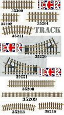 PIKO G SCALE 45mm GAUGE BRASS TRAIN TRACK, CURVES STRAIGHTS POINTS, LGB BACHMANN