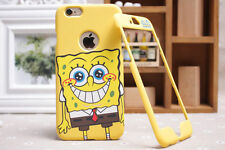 NEW! Spongebob Square Pants iPhone Samsung Front & Back Plate Case Cover