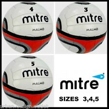 MITRE MALMO Football Soccer Ball Training 18 Panel Size 4,5 Footballs Balls NEW