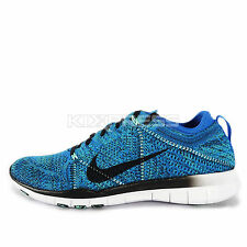 WMNS Nike Free TR Flyknit [718785-401] Training Soar/Black-White