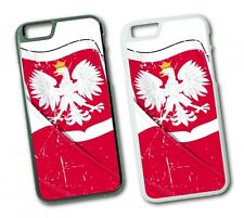iPhone Poland Flag 1 Hard Pouch Flip Case Case Cover Protective Phone