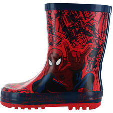 Boys SIZE 7 - 1 Red SPIDERMAN Wellies Wellington Boots Welly NEW Taylor