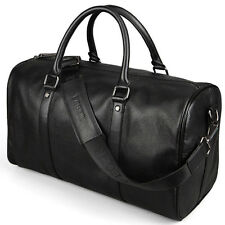 New Mens Casual Genuine Leather Duffle Travel Bags Luggage Handbag Shoulder Bag