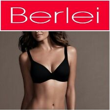 BERLEI BLACK BARELY THERE CONTOUR TSHIRT BRA SUPPORT UNDERWIRE PLUS SIZE 10-20