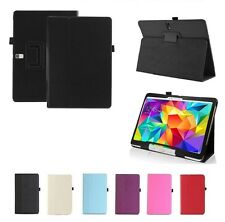 """UK Premium PU Leather Case Cover for Samsung Galaxy Tab Pro 8.4""""/10.1""""/12.2"""""""
