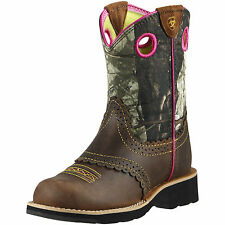 ARIAT - Kids Fatbaby Cowgirl - Rough Brown / Mossy Oak - ( 10008724 ) - New