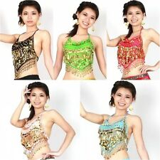 Mix Flair Wrap Top Choli Belly Dance Club Costume Gypsy Bra Tribal 10 Colors G81