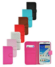 Samsung Galaxy Note 1 N7000 & Note 2 N7100 CCDesign PU Leather Wallet Case