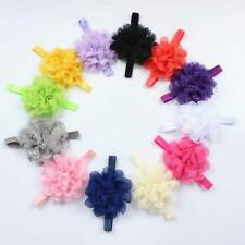 Elegant Baby Toddler Infant Lace Flower Headband Hair Bow Headwear Accessories