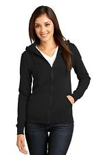 District Ladies DT801 Hoody Juniors The Concert Fleece Full-Zip Hoodie NEW