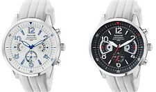 Accurist Acctiv Chronograph Stylish Rubber Strap Mens Watch