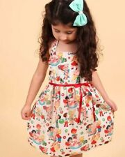 Vintage Candy Dress Kids Girls Retro Rockabilly Different Candy Cane Cute Cotton